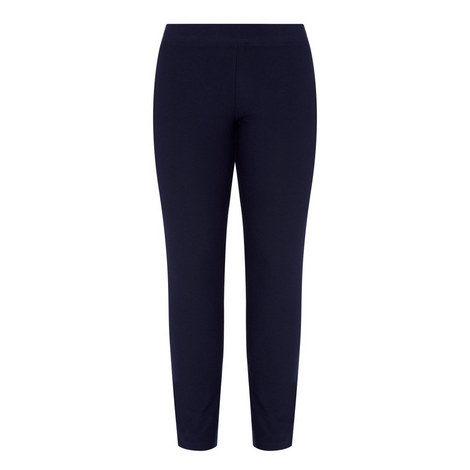 Crêpe Stretch Trousers, ${color}