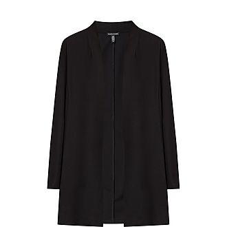 Long Crêpe Jacket