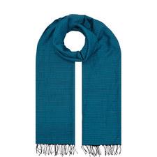 Handloomed Organic Cotton Silk Scarf