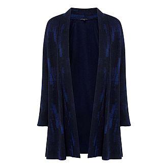 Printed Wool Blend Jacket