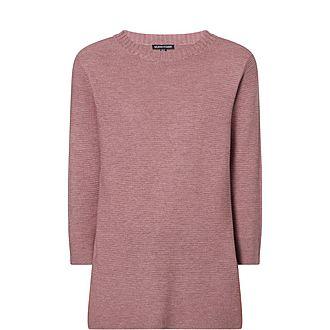 Silk Ribbed Sweater