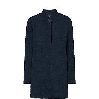 Jacquard Longline Jacket