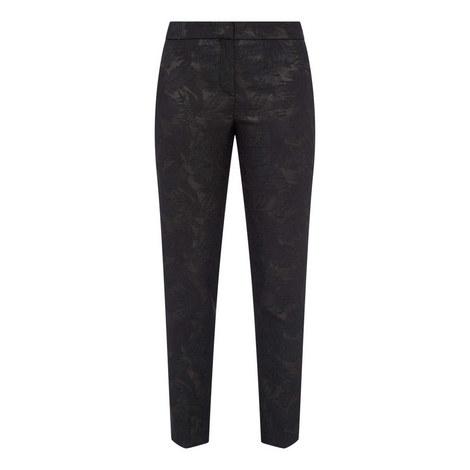 Tanitea Jacquard Textured Trousers, ${color}