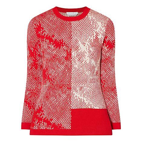 Fillian Contemporary Print Sweater, ${color}