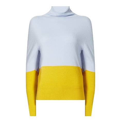 Fosalie Block Panel Sweater, ${color}