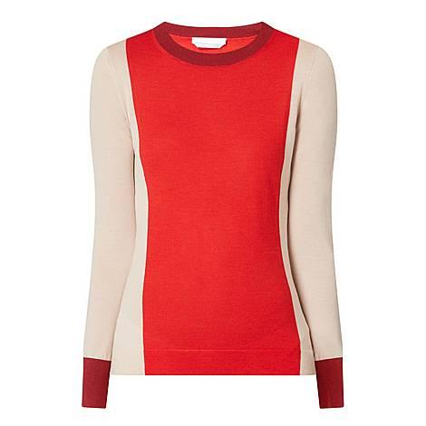 Fiolena Block Sweater, ${color}