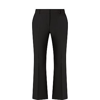 Tabamba Wide Cropped Trousers