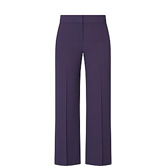 Tapely Cropped Trousers