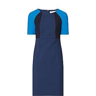 Dolobus Colourblock Pencil Dress