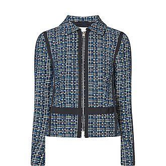 Janopus Textured Tweed Jacket