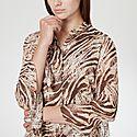 Chava Zebra Blouse, ${color}