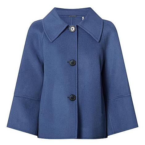 Eileen Cropped Wool Coat, ${color}
