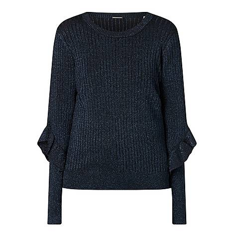 Hope Metallic Sweater, ${color}