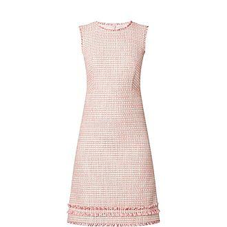 Braid Tweed Dress