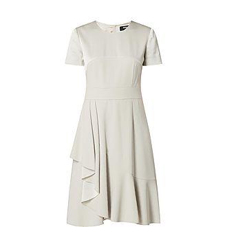 Capped Sleeve Dress