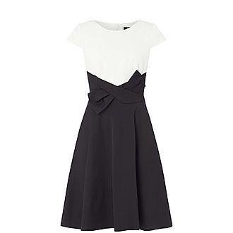 Paper Waist Dress