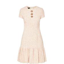 Multi Tweed Dress