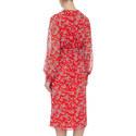 Botanical Print Shirt Dress, ${color}