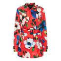 Floral Print Jacket, ${color}