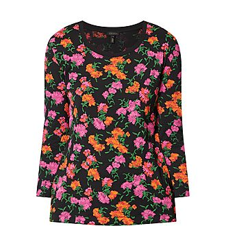 Jersey Floral Top