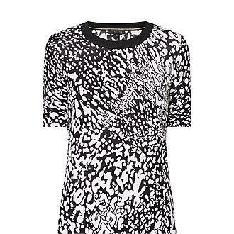 Leopard Print Knit Sweater