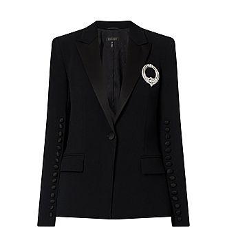 Tuxedo Button Jacket