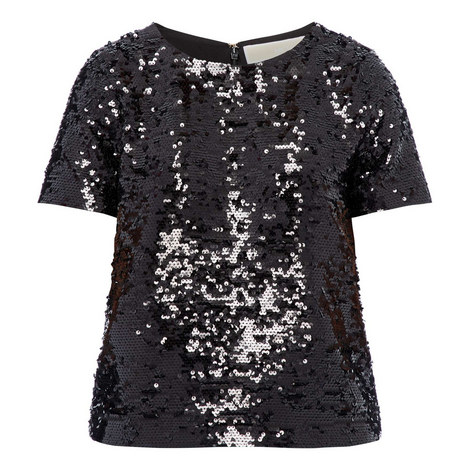 Sequin T-Shirt, ${color}