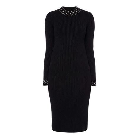 Embellished Midi Dress, ${color}