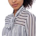 Stripe Chiffon Dress, ${color}