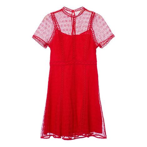 Lace Bloom Dress, ${color}