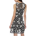 Floral Mesh Midi Dress, ${color}