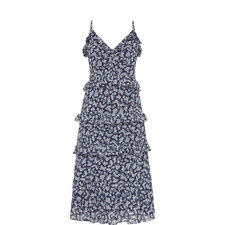 Blossom Ruffle Maxi Dress
