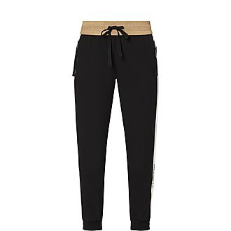 Camel Stripe Sweatpants