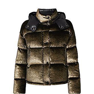 Padded Glitter Jacket