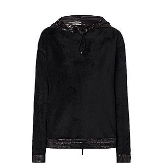 Maglia Faux Fur Sweatshirt
