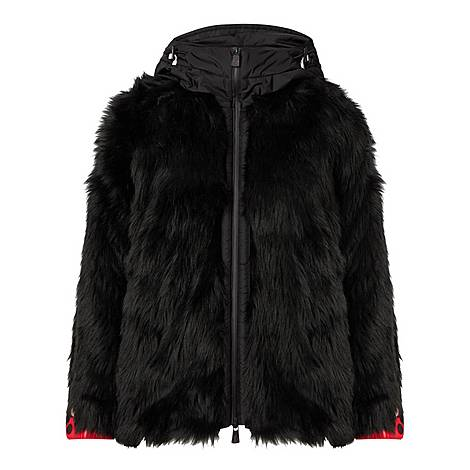 Big Foot Faux Fur Jacket, ${color}