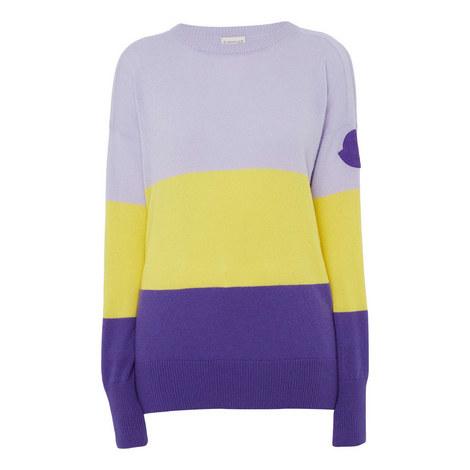Stripe Knit Sweater, ${color}