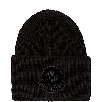 Velvet Logo Beanie Hat