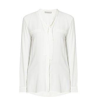 Novara Ribbon Collar Shirt