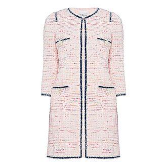 Rose Tweed Coat