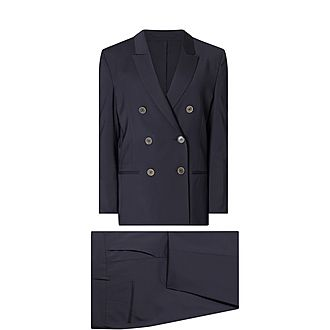Double Breasted Two-Piece Suit