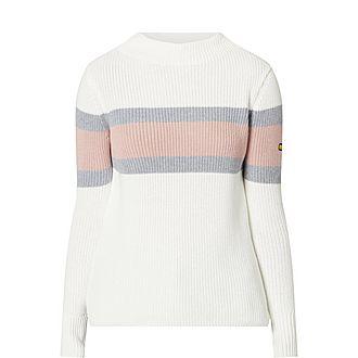 Strike Ribbed Sweater