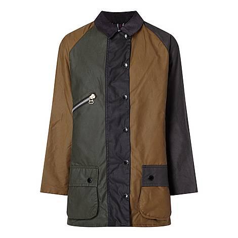 Patchwork Wax Jacket, ${color}