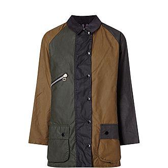 Patchwork Wax Jacket