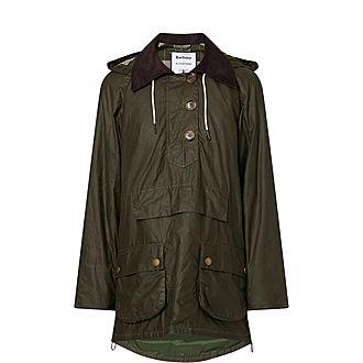 Coco Wax Poncho Jacket