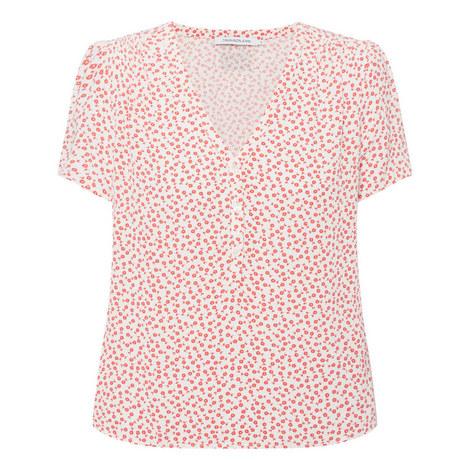 Drape Shirt Top, ${color}