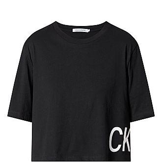 Boyfriend Cropped T-Shirt