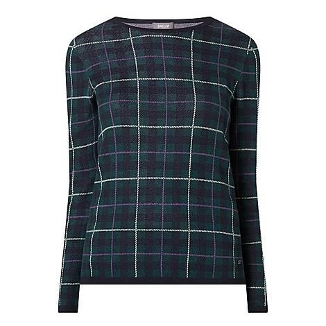 Plaid Sweater, ${color}