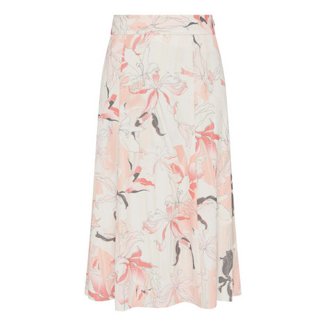 Orchid Midi Print Skirt, ${color}