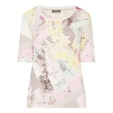 Floral Print Jersey T-Shirt